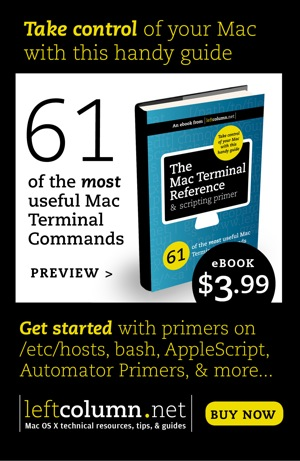 Mac Terminal Reference ebook